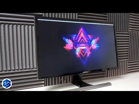 Samsung U28E590D 28-Inch 4K UHD LED-Lit Monitor Review - YouTube