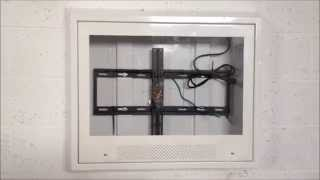 Anti Ligature LCD TV Enclosure - Protecting TVs in Jails and Hospitals