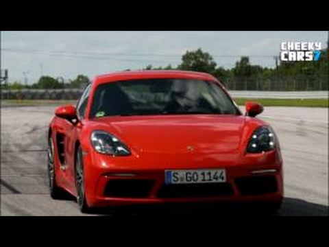 New Porsche 718 Cayman S 2016 - Test Drive - Interior - 2017 Acceleration Sound