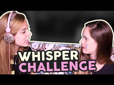 Whisper Challenge ft Saraí Meza♡  Laila Montero