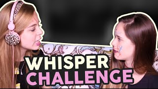 Whisper Challenge ft Saraí Meza♡ / Laila Montero
