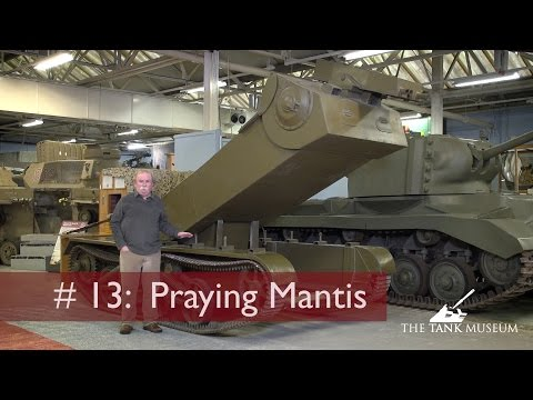 Tank Chats #13 Praying Mantis | The Tank Museum