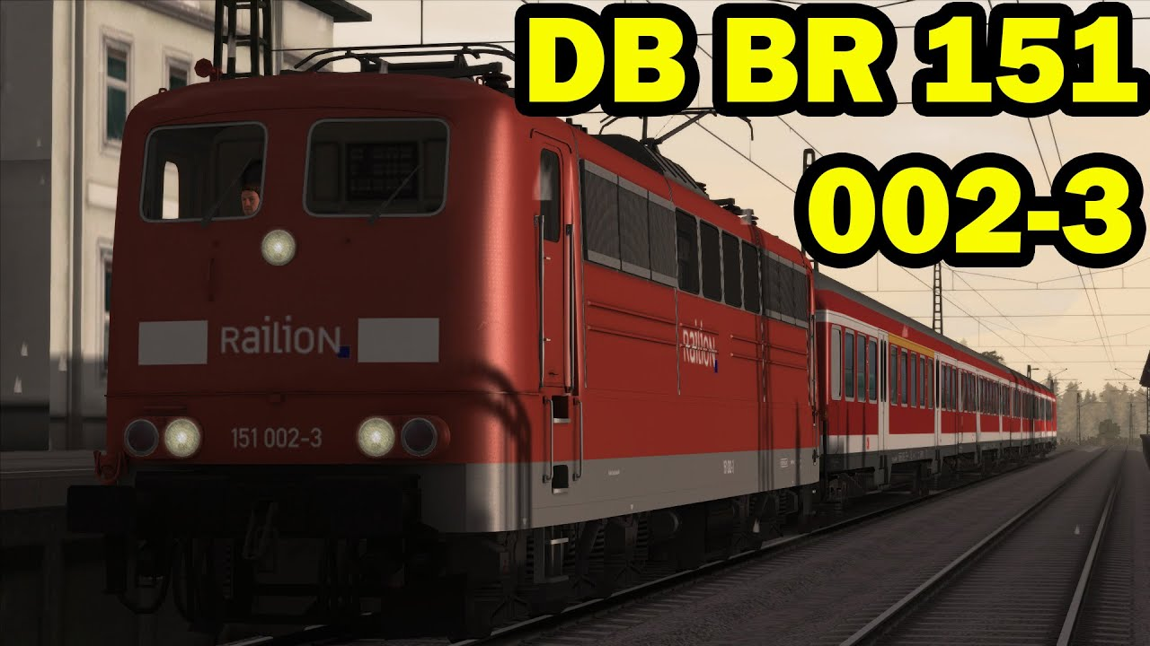 TS 2015 - Trouble with Goats DB BR 151 002-3