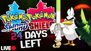 1 Shiny Per Day CHALLENGE! | Sword & Shield Countdown (24 days LEFT)