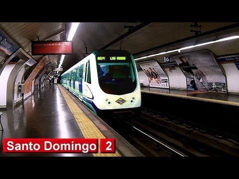 Metro de Madrid : Santo Domingo L2 ( Serie 3000 )