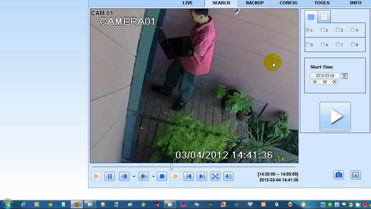 Q-See Security Surveillance Camera Webclient - YouTube
