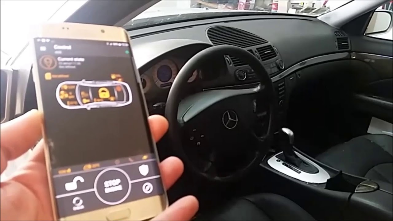 Remote start engine for mercedes with pandora smart car for Remote start for mercedes benz