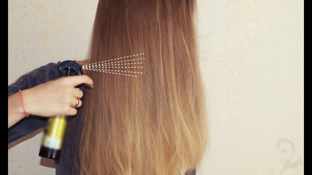 Спрей несмываемый для волос своими руками
