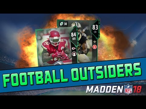 91 Speed Tyreek Hill! Football Outsiders Are Here! | Madden 18 Ultimate Team Pack Opening