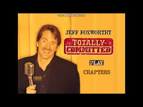 Opening To Jeff Foxworthy: Totally Committed DVD (08-20-02) (USA) (Region 1)
