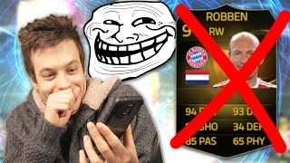 BEST TROLL EVER!!! HAHA!! - FIFA 15 Ultimate Team Prank