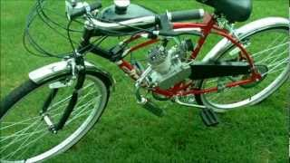 49cc Motorized Bicycle Kit Project
