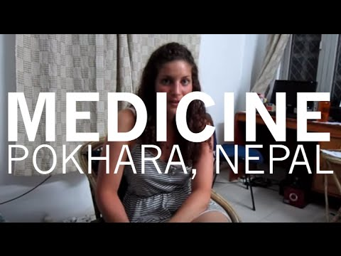 Pokhara, Nepal - Medical student Nadia talks about her elective
