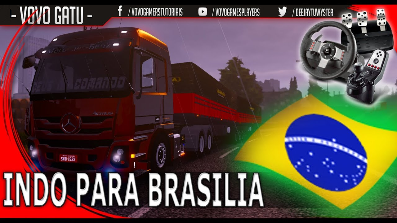 RUMO A BRASILIA - BRASÍLIA CAMINHONEIROS! PX DOS CAMINHONEIROS