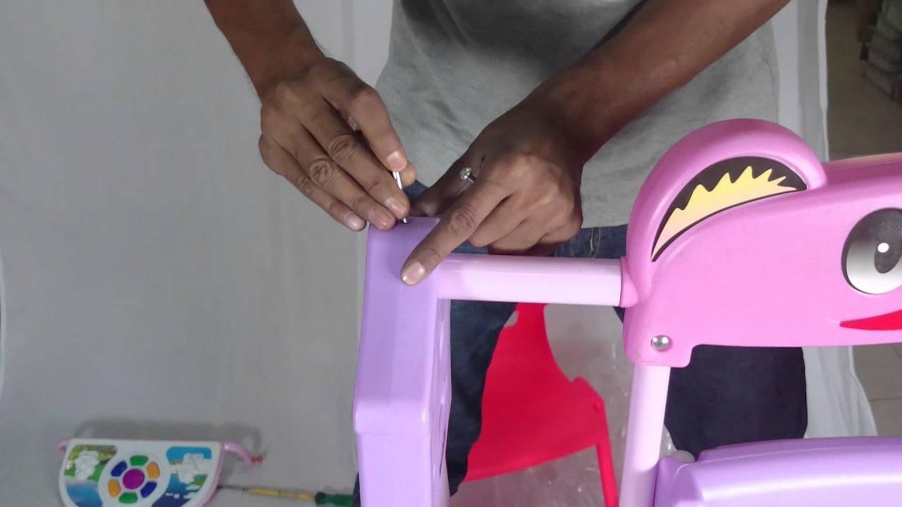Baby Chair Swinging Model No Ts Bs 16 Pedestal Gaming Sunbaby Swing Assembling Video Jc 002 Youtube