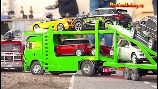 RC MODELS, TRUCKS, CONSTRUCTION MACHINE ACTION at Oktoberfest KA p3