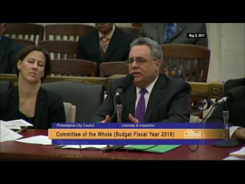 FY2018 Philadelphia City Council Budget Hearing 5-8-2017 Full Day