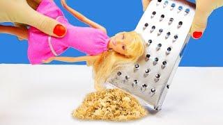 Barbie DIY! Clever Barbie Doll Hacks And Crafts