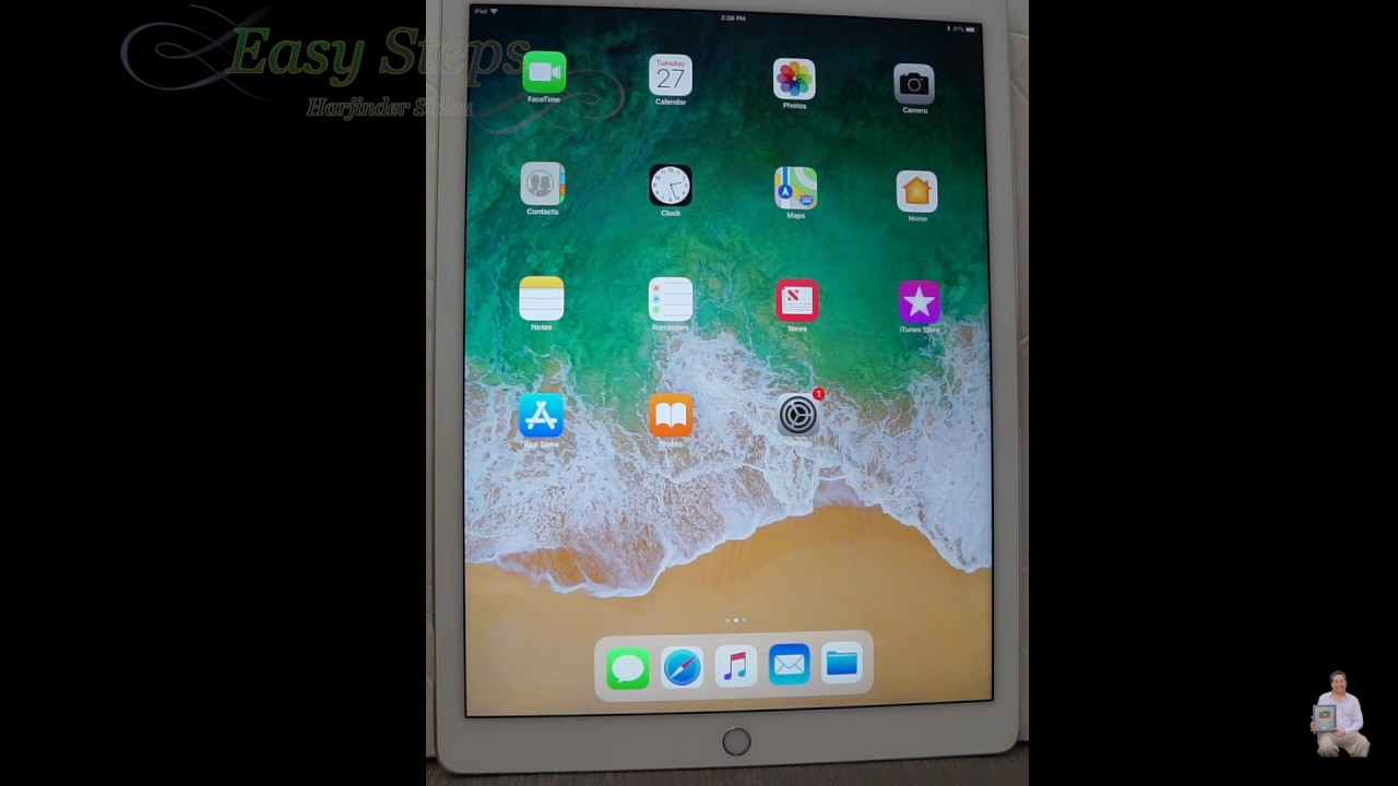 How to reset an ipad pro to factory settings