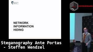 #HITB2018AMS CommSec D1 - Steganography Ante Portas -  Steffen Wendzel