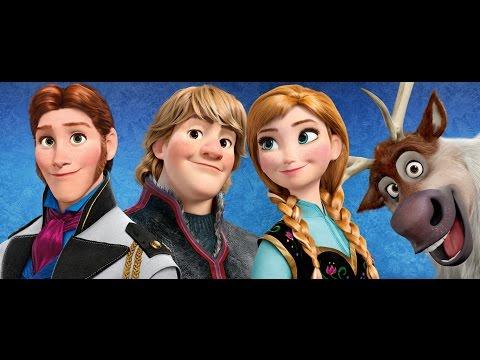 Frozen-Anna: comparación entre Hans y Kristoff-Fandub español latino