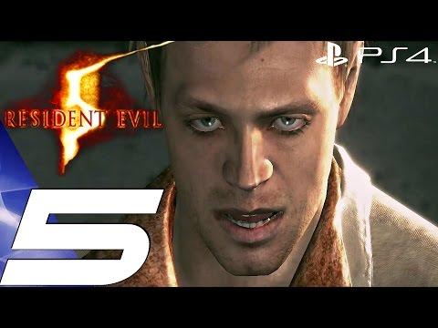 Resident Evil 5 (PS4) - Gameplay Walkthrough Part 5 - Oilfield & Irving Boss [1080P 60FPS]