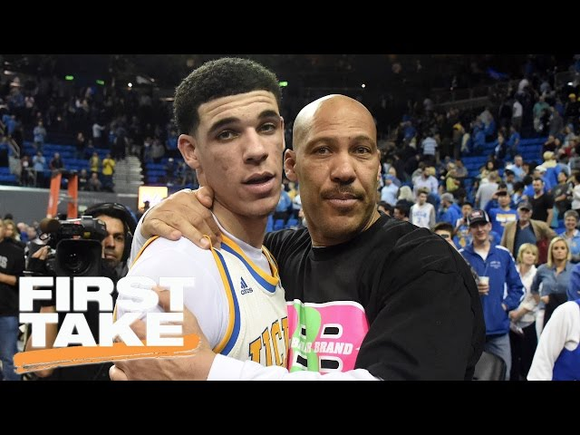 LaVar And Lonzo Ball On First Take | First Take | March 27, 2017
