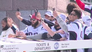 PARADE: New England Patriots honored in Boston