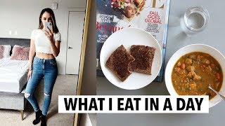 WHAT I EAT IN A DAY | healthy easy ideas, meal prep recipes