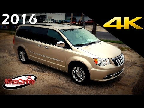 2016 Chrysler Town And Country Touring L Ultimate In Depth