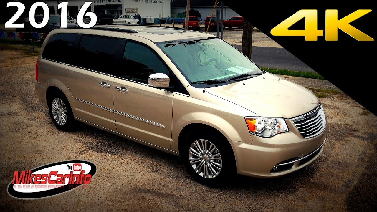 2016 chrysler town and country touring l ultimate in depth look in 4k youtube. Black Bedroom Furniture Sets. Home Design Ideas