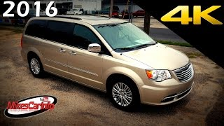 2016 Chrysler Town and Country Touring L - Ultimate In-Depth Look in 4K