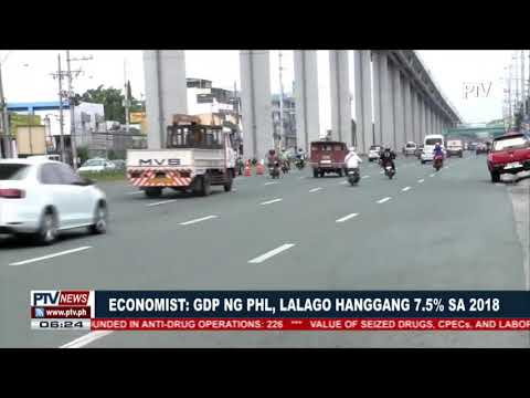 Philippine Economy to expand as much as  7.5% in 2018