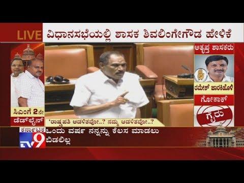 Karnataka Trust Vote Live: 'If an MLA is Being Kidnapped Where Are we Headed?' Shivalinge Gowda