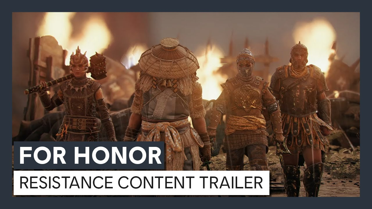 For Honor - Y4S3 Resistance Content Trailer