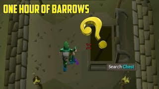 OSRS- Loot From 1 Hour Of Barrows! Low Level - Med Level