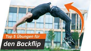 Top 5 Übungen für eine viel schnellere Backflip-Drehung   Andiletics