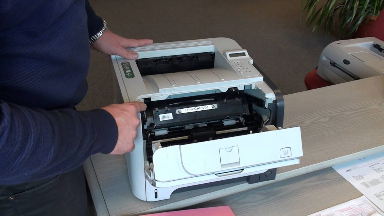 Hp Laserjet P2055dn Printer Introduction And Review Youtube