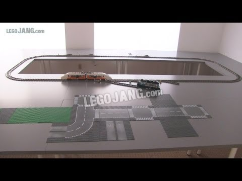 Download Youtube: OLD Video! Updates on my channel! My LEGO city update June 4, 2013 - Tables, train test