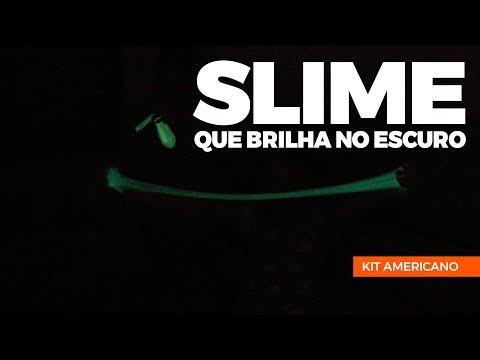 SLIME NEON QUE BRILHA NO ESCURO - COMO FAZER SLIME