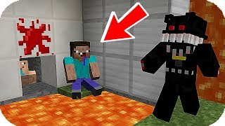 NOOB VS ANIMATRONICO LABERINTO FNAF ESCONDITE TROLL MINECRAFT