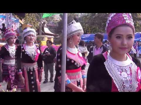 2017 Hmong Phuchifa, Thailand Fest p1. Hmoob Phuchifa ua Npus lom zem.