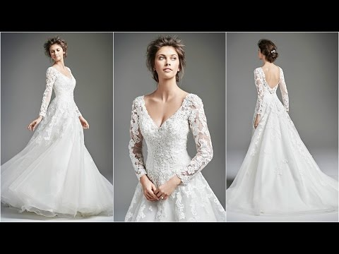Wedding Dress With Sleeves | Best Wedding Dresses | Wedding Dress 2016 | Wedding Dresses | WD14