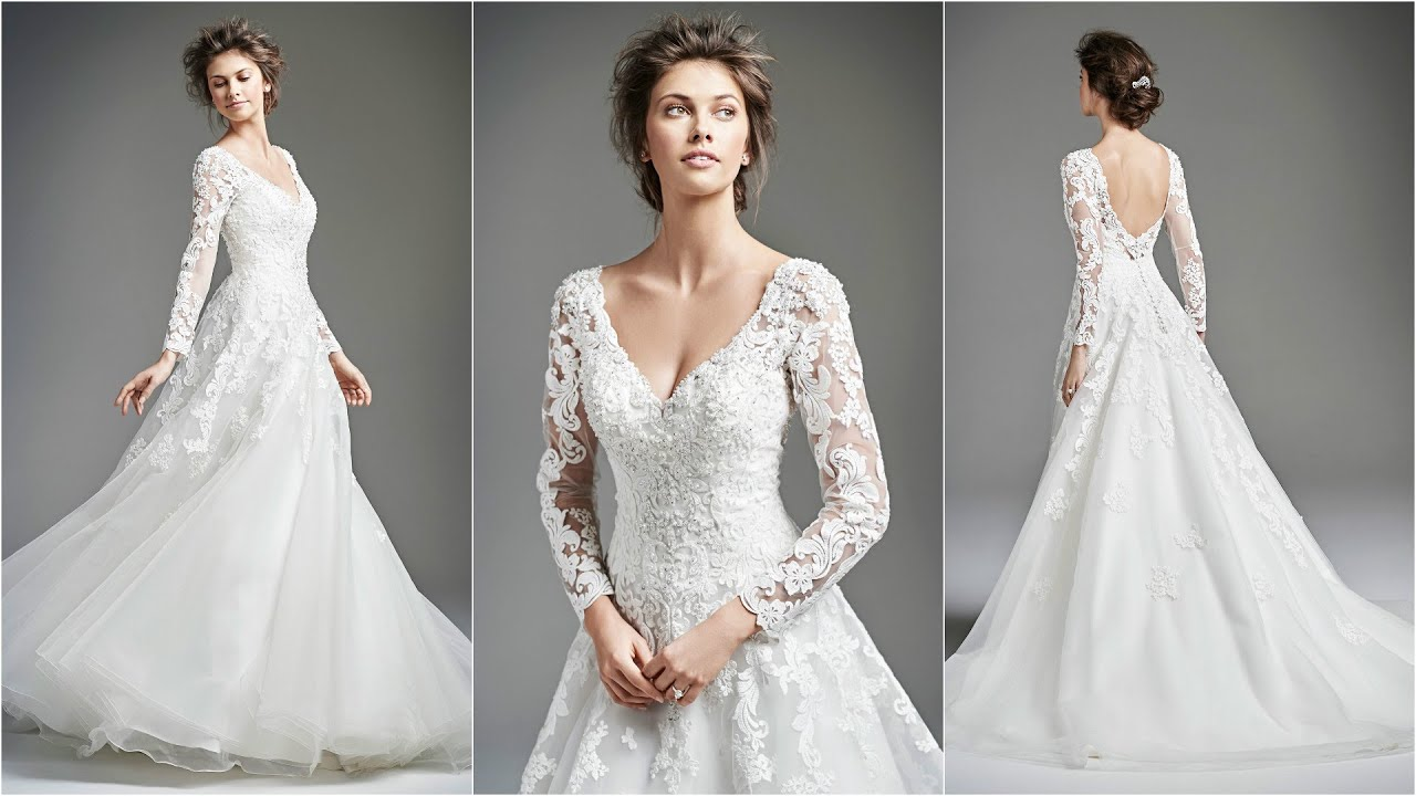 Wedding Dress With Sleeves Best Dresses 2016 Wd14