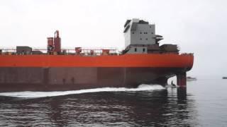 Porinuće broda Panagia Thalassini u brodogradilištu 3. Maj