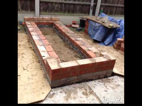 How To Build A Brick Raised Bed And Timber Gate Claystacker