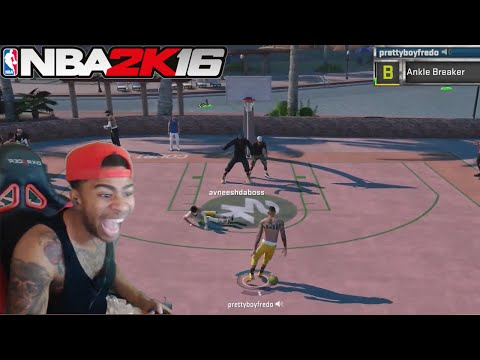 EXPOSING TRASH TALKERS AT THE PARK!! NBA 2K16