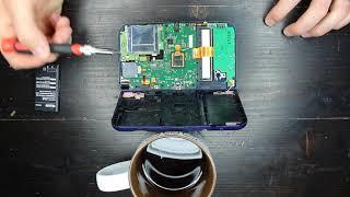 Black screen blue light Nintendo 3DS