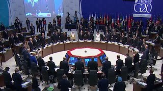 G20 summit in Antalya kicks off with minute of silence for terror victims