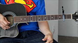 Charlie Puth - One Call Away Guitar Tutorial Lesson Easy